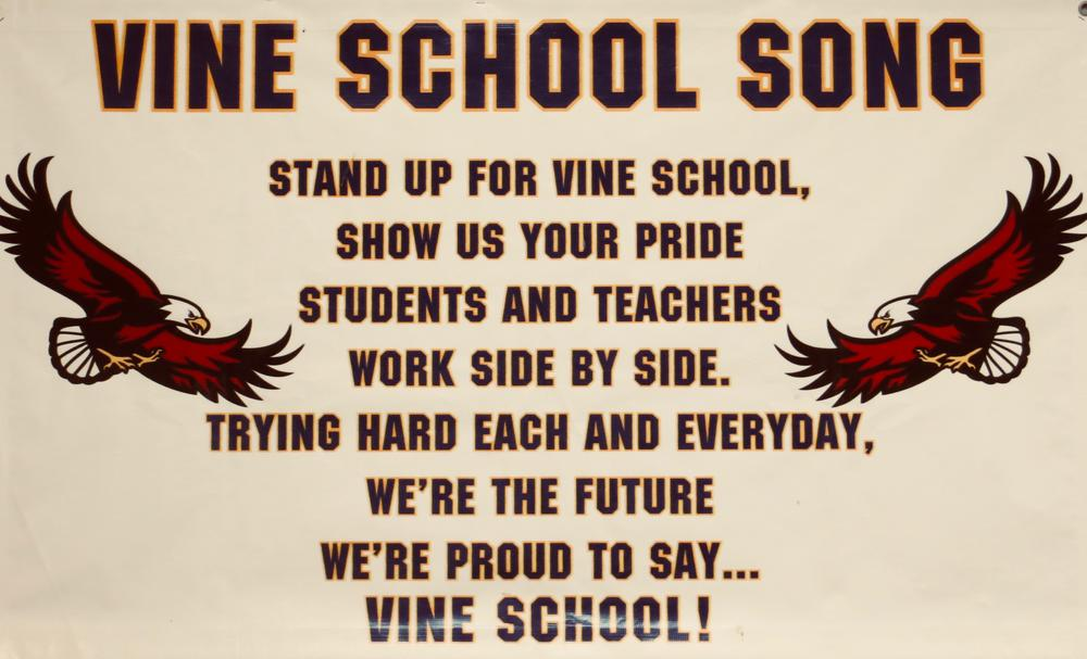 Vine school song