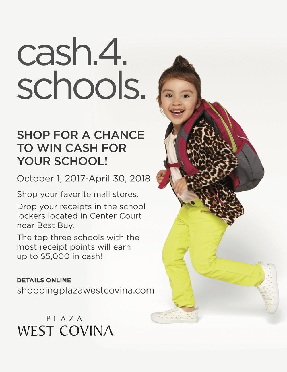 Chance to win cash for our school