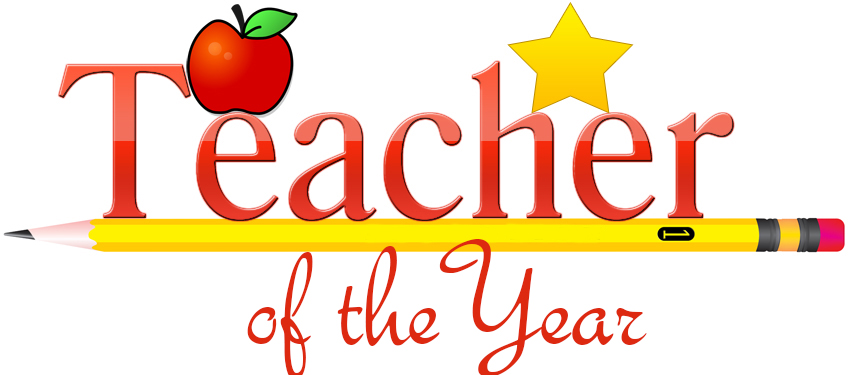 Award notice for teacher of the year