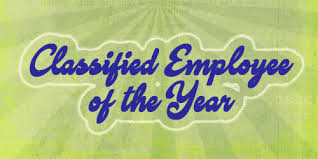 Classified employee of the year icon